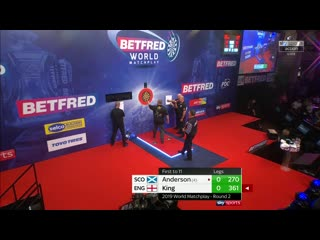 Gary Anderson vs Mervyn King (PDC World Matchplay 2019 / Round 2)
