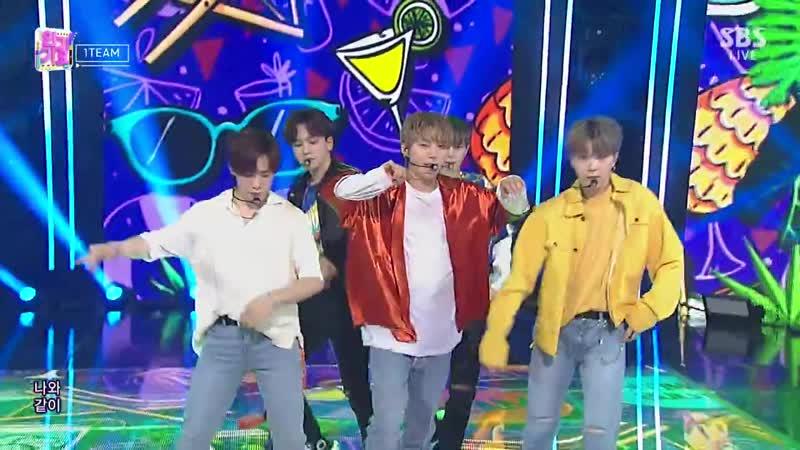 SBS 인기가요 1012회 (일) 2019-08-04 오후3시50분