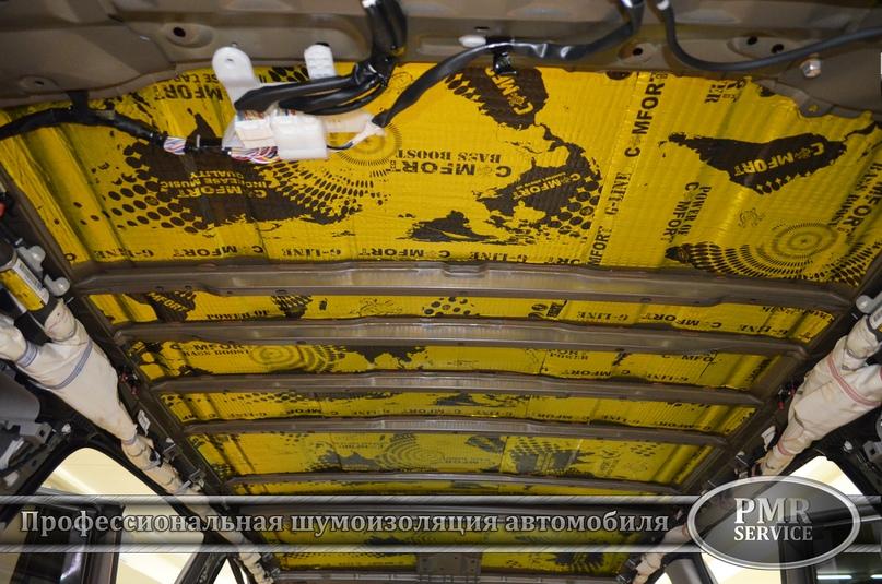 Шумоизоляция Toyota Highlander, изображение №5