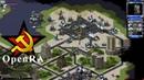 OpenRA CC Red Alert 2 Romanov's Vengeance Mod Allied Multiplayer (4 Players vs 4 AIs)