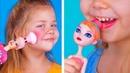 Косметика в виде кукол / 10 лайфхаков и поделок для Барби, ЛОЛ, Эвер Афтер Хай