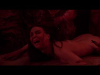 Жёсткий секс девушки с дьяволом в аду