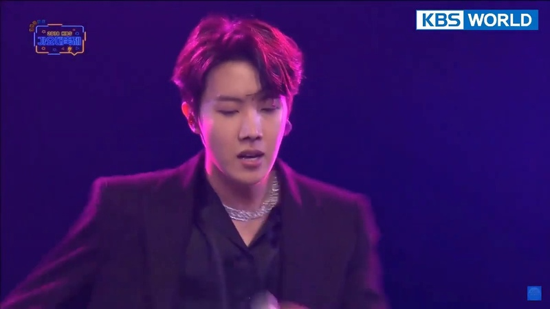 BTS J hope 'Just Dance' 2018 KBS Song Festival 2018 12 28 KBS GAYO Daechukje 2018