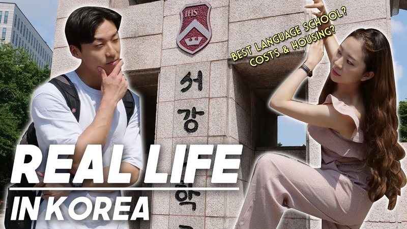 Living as a foreign student in Korea|Comparing Best Korean Language Schools in Seoul(Cost Housing)