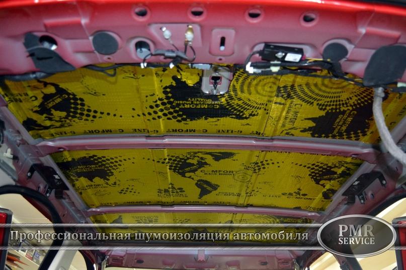 Комплексная шумоизоляция Land Rover Evoque, изображение №7