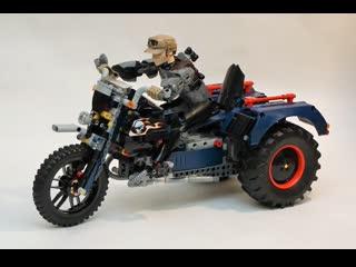 Испытания трицикла с двумя pull-back моторами