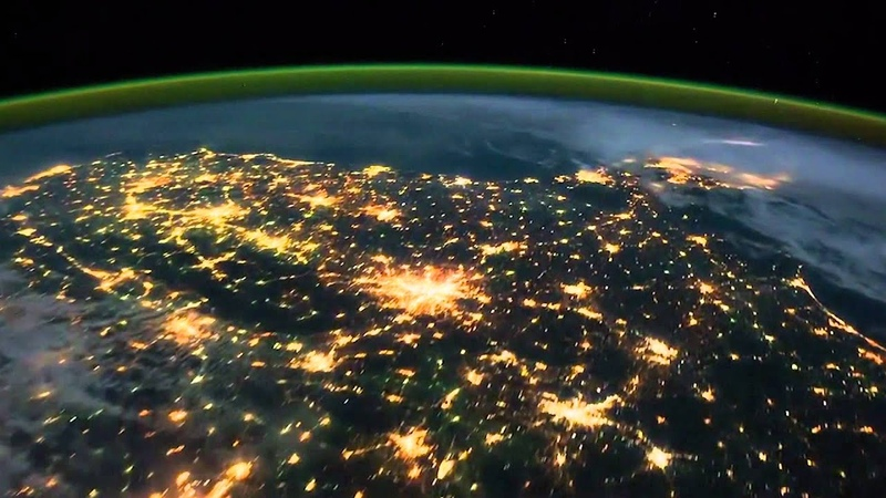 THE BEST HD VIDEO OF THE EARTH! AMAZING AS SEEN FROM ISS SPACE STATION ADAGIO IN D MINOR John Murphy