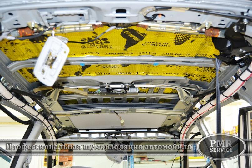 Шумоизоляция Honda CRV, изображение №6