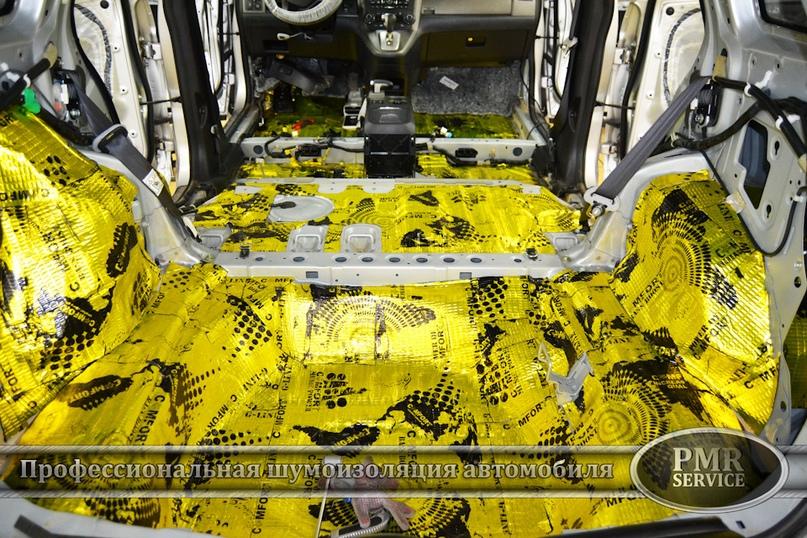 Шумоизоляция Honda CRV, изображение №12
