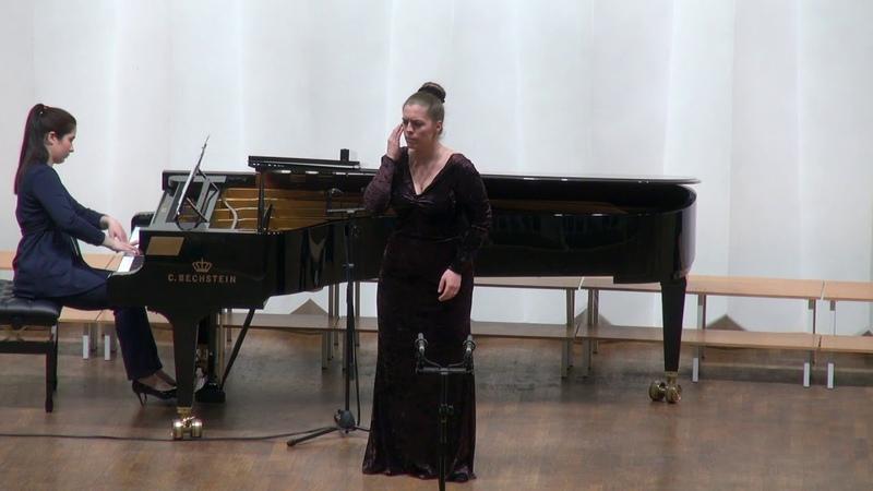 Yuliya Lyubimova Scena ed aria di Amelia ''Ecco l'orrido campo...'' G.Verdi Un ballo in maschera