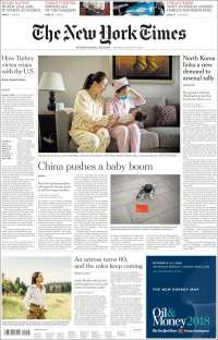 2018-08-13 The New York Times International Edition