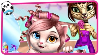 Amy's Animal Hair Salon - Fluffy Cats Makeovers & Dress Up Games for Kids and Children