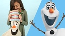 How to Make an Olaf Stocking | Disney Family
