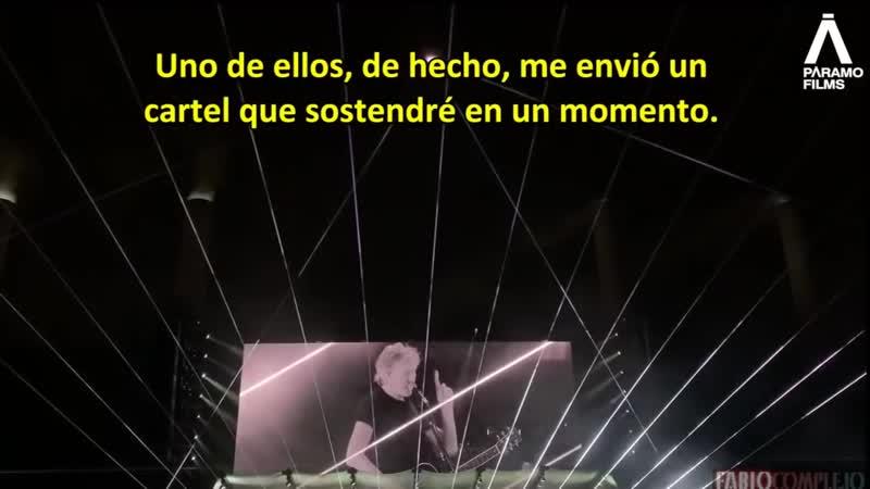 El Illuminati Roger Waters de Pink Floyd da un discurso progre sobre la educación en Colombia