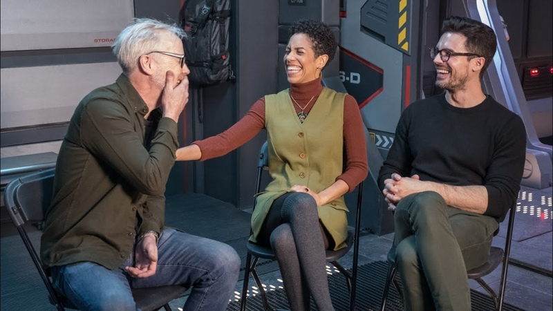 Adam Savage Chats with The Expanses Dominque Tipper and Steven Straight
