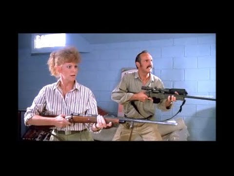 Broke Into The Wrong Goddamn Rec Room - Reba Guns Down Prehistoric Monster - Scene From Tremors