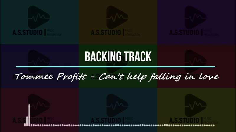 Tomme Proffit Can't help falling in love backing track