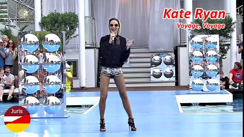 Kate Ryan - Voyage, Voyage (ZDF-Fernsehgarten 18.06. 2017)