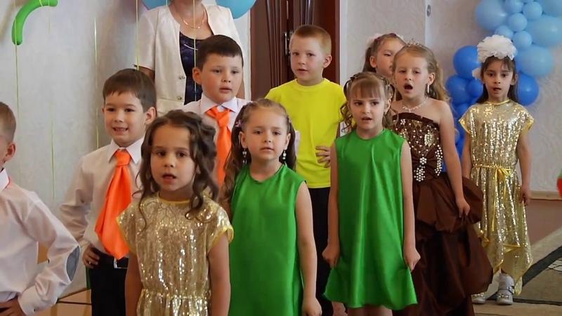 Випускний бал групи Сонечко ДНЗ № 21 Волошка