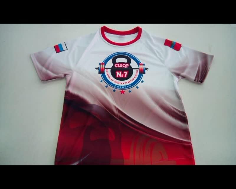 Видеообзор футболки для гиревого спорта от DARsport.ru