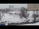 Мостик в мир Зима снег летит и тает