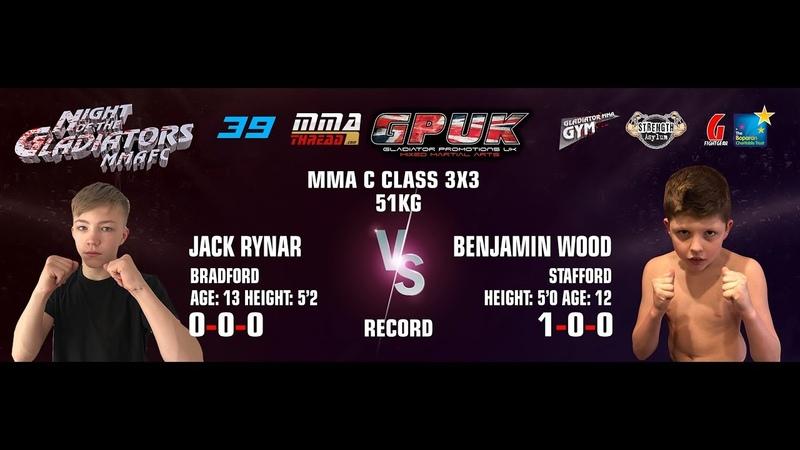 GPUK Night Of The Gladiators 39: Jack Rynar vs Benjamin Wood