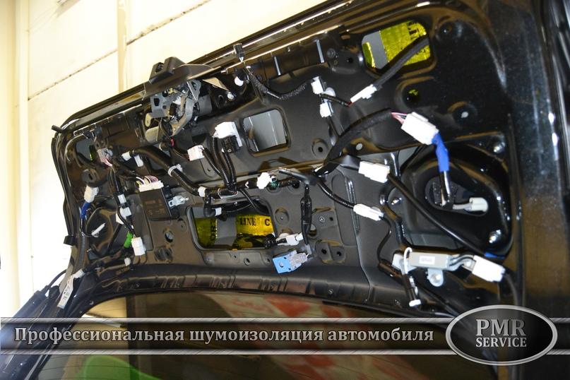 Шумоизоляция Lexus LX, изображение №19