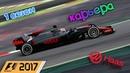 F1 2017 КАРЬЕРА 1 СЕЗОН - АЗЕРБАЙДЖАН КВАЛИФИКАЦИЯ 19