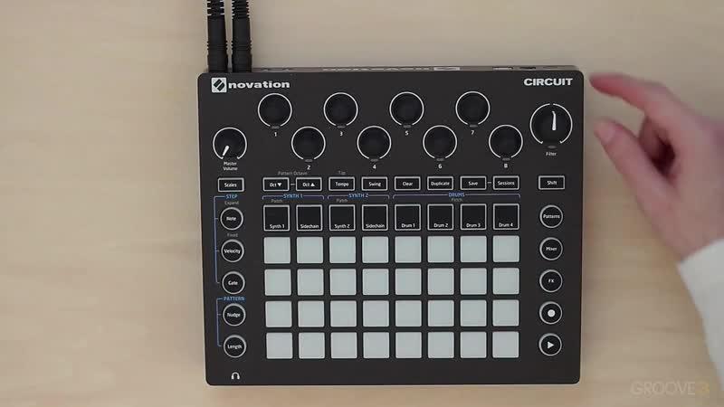 Groove3 Novation Circuit Power Start
