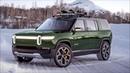 2020 Rivian R1S SUV - Interior, Exterior Driving