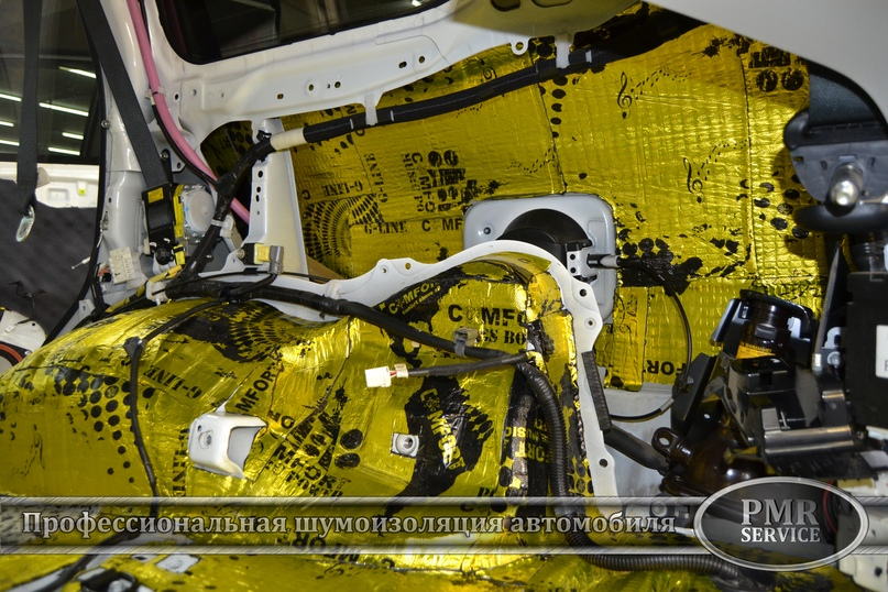 Комплексная шумоизоляция Toyota Land Cruiser 200, изображение №27