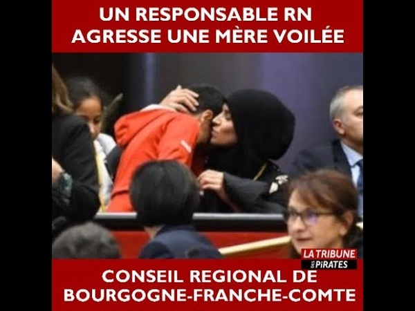 Un responsable RN agresse une mère voilée au conseil régional de Bourgogne