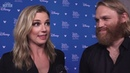 The Falcon and The Winter Soldier: Emily VanCamp Wyatt Russell Interview | D23 Expo 2019