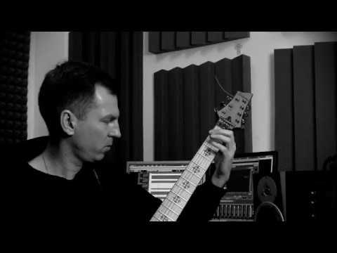 Schecter Jeff Loomis model Flying V - Boris Korotaev - Shadow (metal) Борис Коротаев - Тень