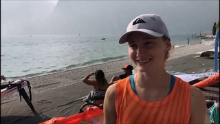 Чемпионат мира в классе RS:X. Стефания Елфутина - победа в медальной гонке!