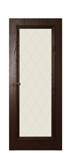 Дверь Магнолия 4, дуб бренди