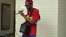 Verbal Ase in NYC subway aug 2013