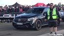 820HP BMW 325i E30 Turbo vs 950HP GAD Motors GLC 63 S Авто