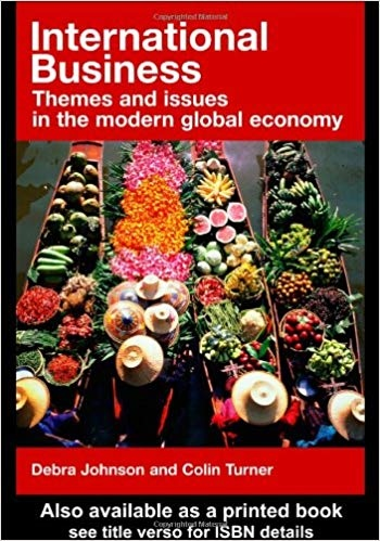International Business Theory and Practice to Themes and Issues in the Modern World Economy