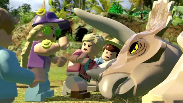 Релизный трейлер LEGO Jurassic World на Nintendo Switch