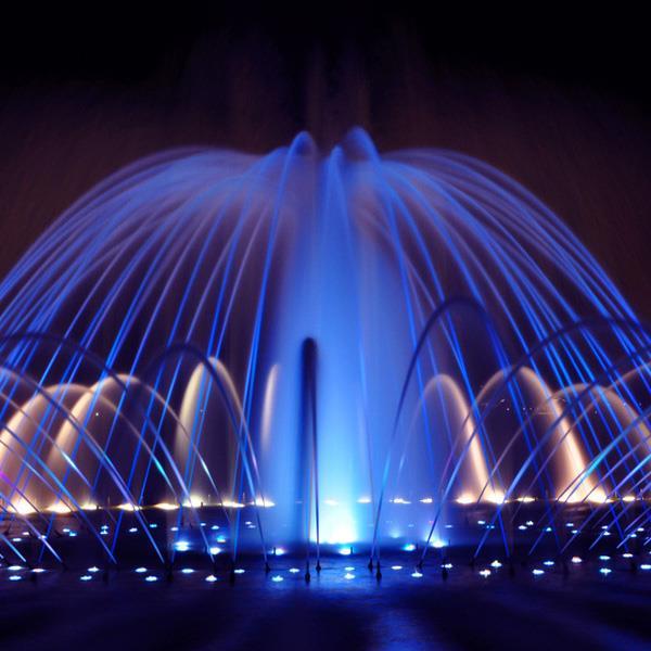 Большие фонтаны Москва
