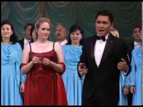 8 Байсултанов Султан Магомедович исполняет Застольная из оперы Травиата Дж Верди