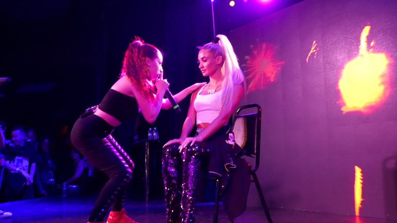 Bhad Bhabie - Whachu Know LIVE HD (2018) Los Angeles The Roxy Theatre