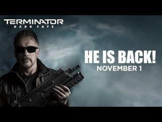 Terminator: Dark Fate | He's Back | In cinemas November 1 | Fox Studios India