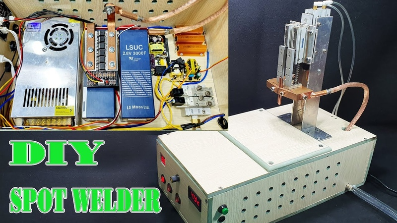 How To Make Spot Welder Using SuperCapacitor