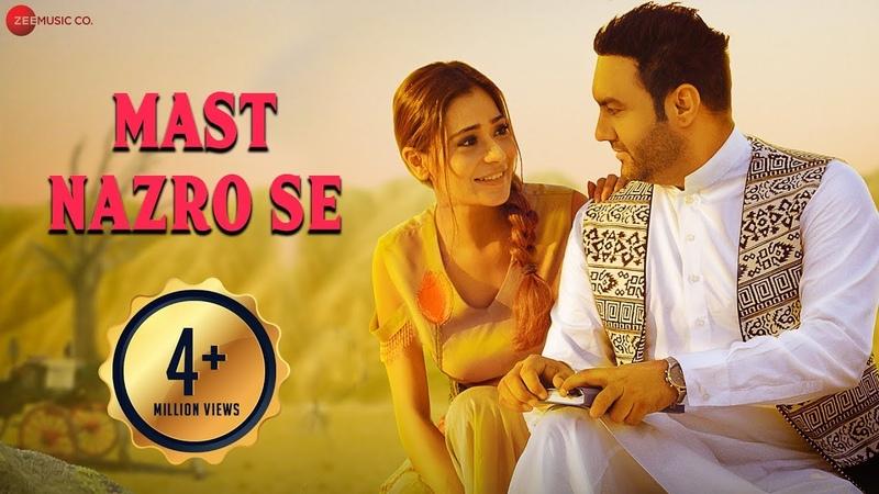 Mast Nazro Se - Official Music Video | Lakhwinder Wadali Featuring Sara Khan