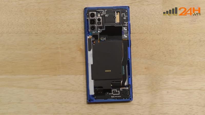 Hướng dẫn thay mạch sạc nhanh NFC Samsung Galaxy Note 10 Plus chính hãng tại Hà Nội đến Tphcm giá rẻ