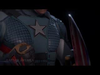 Marvels avengers character profile captain america