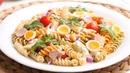 Ensalada de Pasta Fría | Receta Fácil, Rápida y muy Deliciosa