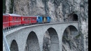 Bernina Express Part 2 Brusio to Thusis